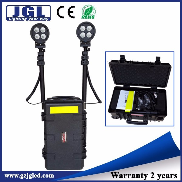80w Remote area LED work lights as searchlights, forest patrolling, coastal patrolling led search light