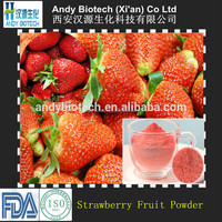 100% Natural Freeze Dried Strawberry Fruit Powder for Drinking