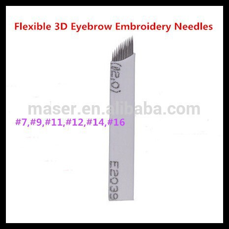 Permanent makeup cosmetic eyebrow tattoo machine, Microblading pen