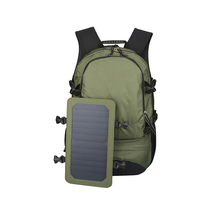 1BP0345 2017 Outdoor Hiking Backpack Bag Solar Backpack