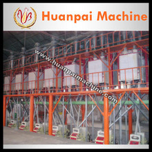 complete set flour mill machinery
