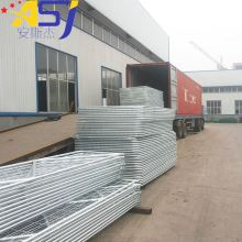 Galvanized farm gate panel N stay steel farm fence gate