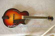 wholesale cheap price half hand made jazz guitar