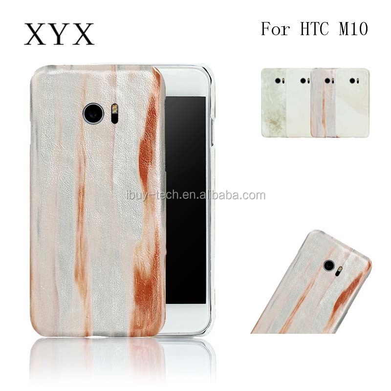 Marble grain leather back cover telephones accessories cell phone case for htc one <strong>m10</strong>