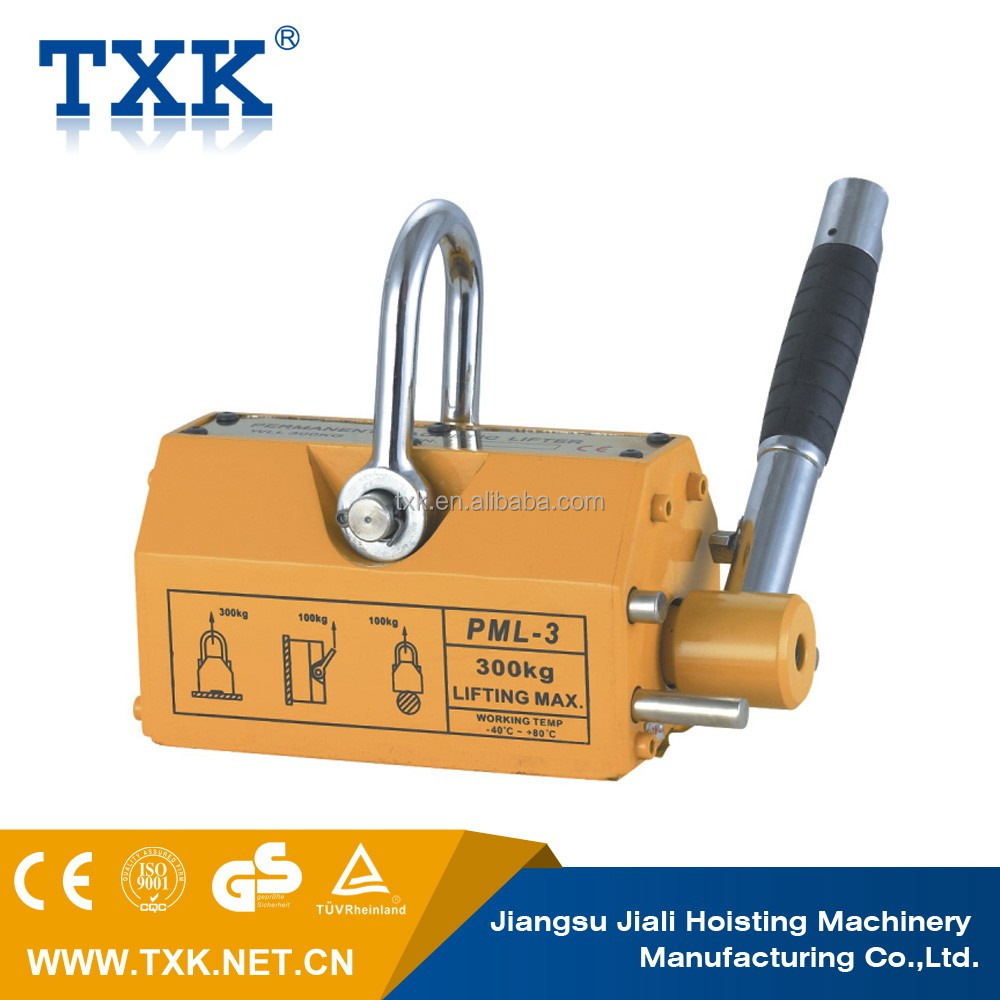 3.0times/3.5times safety factor magnetic lifting equipment,permanent magnetic lifter