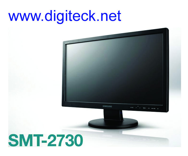 "Samsung SMT-2730 Full HD 27"" Professional Security Monitor with HDMI, VGA & Composite outputs. - Digiteck"