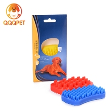 Anti-skid soft silicone pet bath brush as seen on tv product