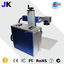 10W 20W desktop fiber laser marking machine china laser factory cheap price 3d sheep ear tag desktop fiber