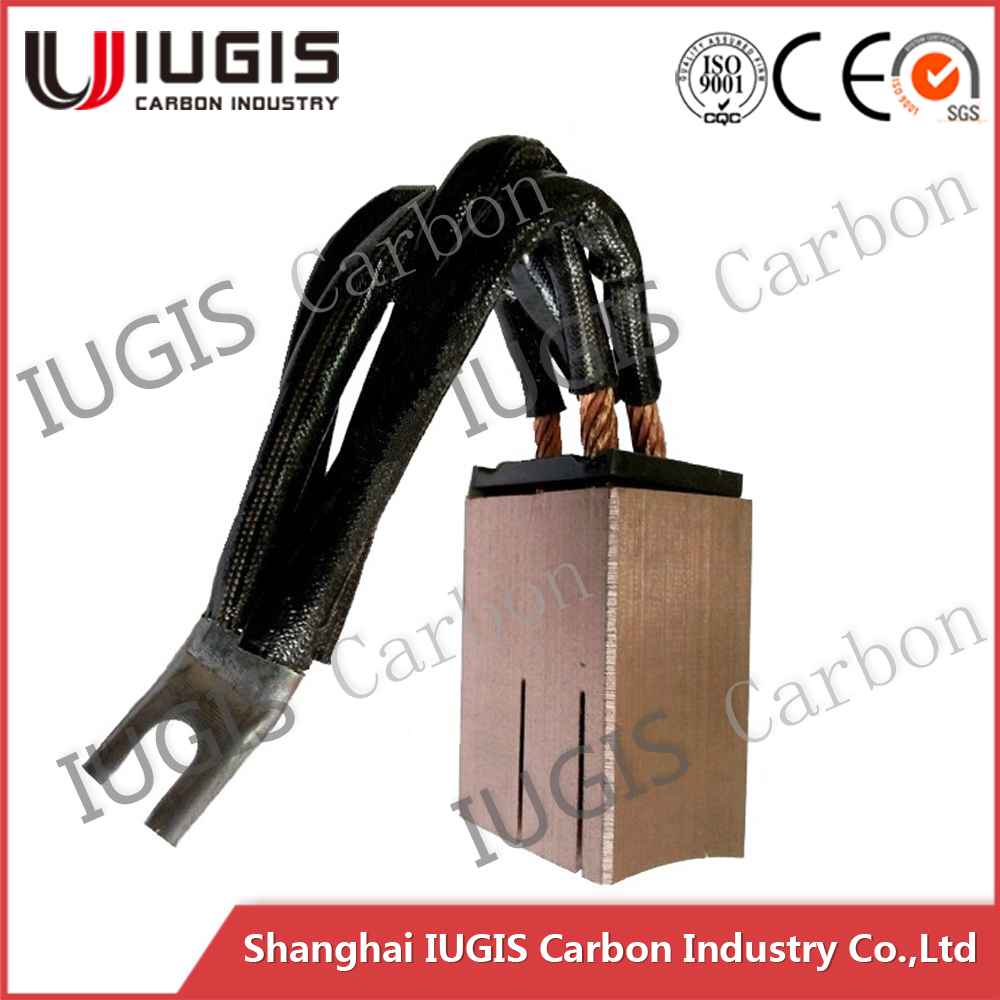high copper carbon brush 32x42x60mm for plating equipment