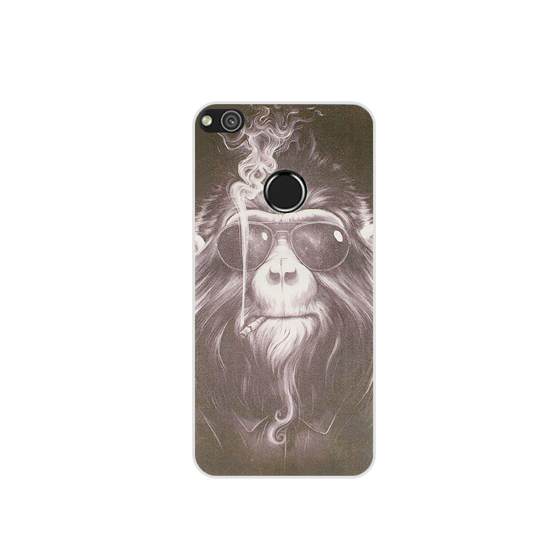Monkey Painted Phone Case For Honor P8 Lite