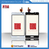 Low cost high quality cell phone display touch screen for Lg p714 phone touch screen