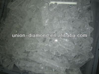 transparent crackle 5N testing report hotselling high purity alumina sapphire wafe ingot growing