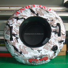 Custome Inflatable PVC Flying Towable Inflatable Water Ski Snow Tube