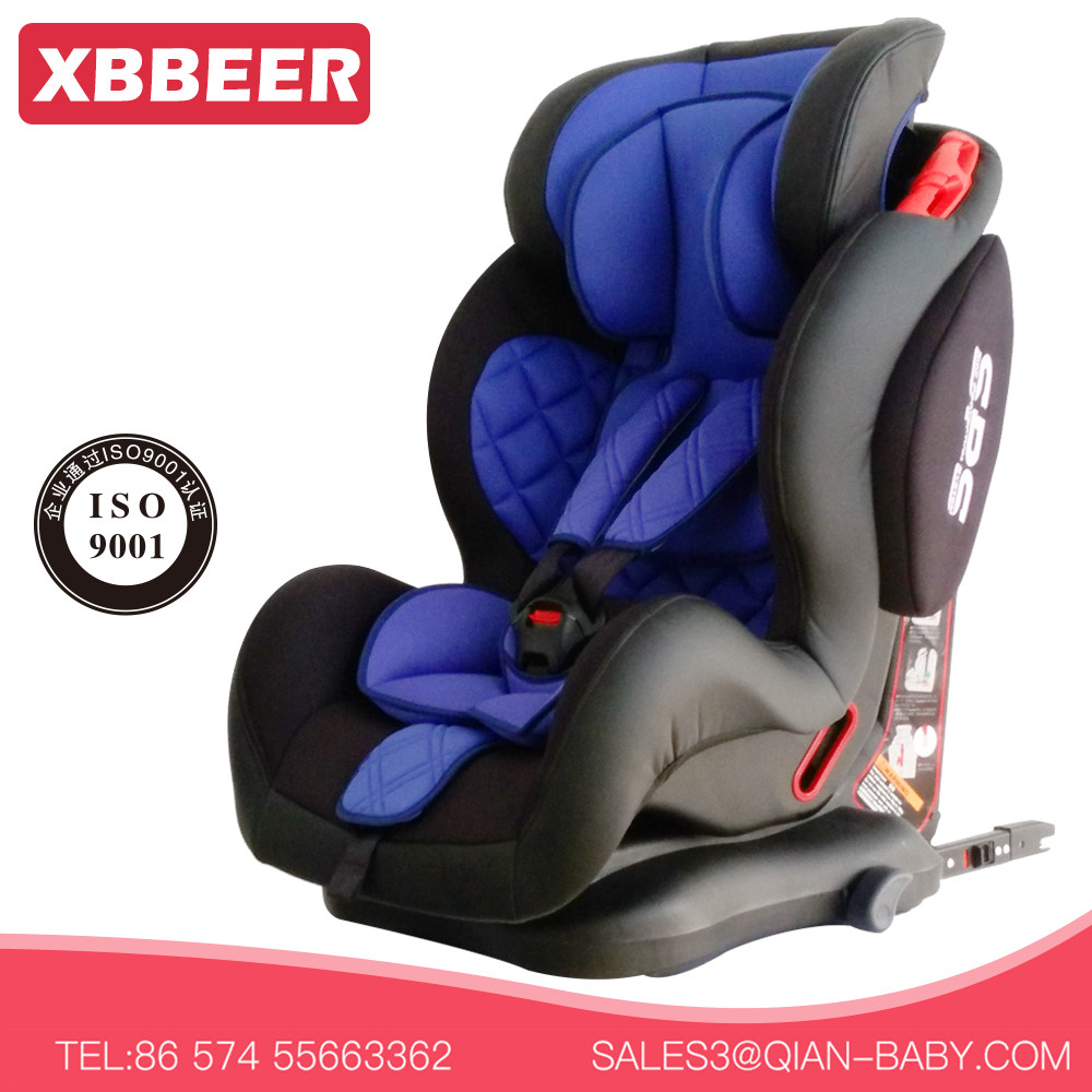 Convenient Simple Strap Safety isofix car seat for babies