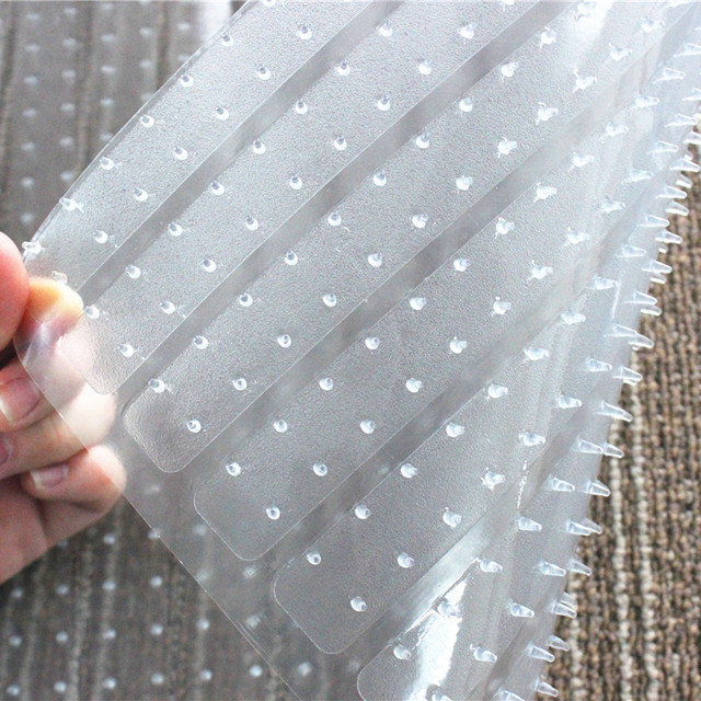 Floor Protective Clear PVC Chair Mat Carpet Protector