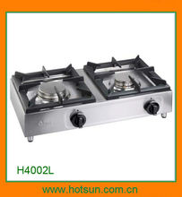 Italian cfparker professional stove with 2-burner H4002L