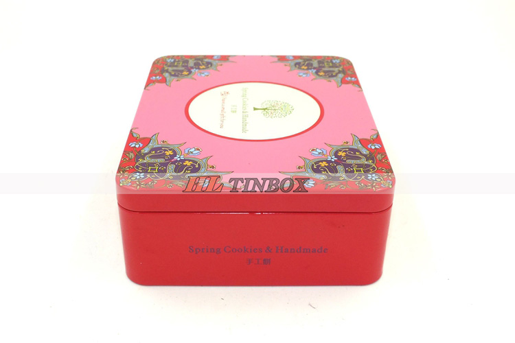 Rectangular Candy Cookie Biscuit Tin Box/Tin Can