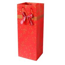 Hot selling Christmas Wine Glass Gift Bags