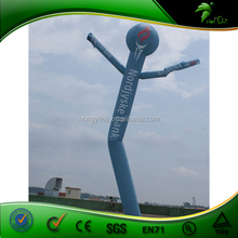 Customized PVC Inflatable Advertising Air Dancers Balloon / Sky Air Dancing Man Size 6m with Air blower