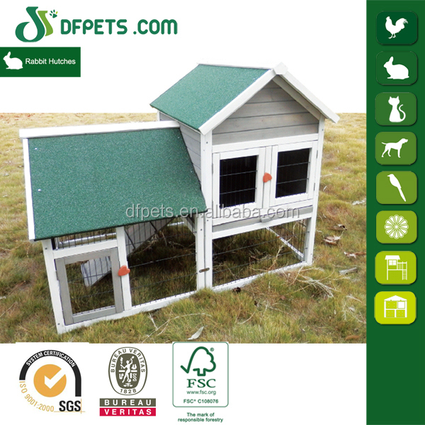 DFPets DFR051 Wood Rabbit House for Sale