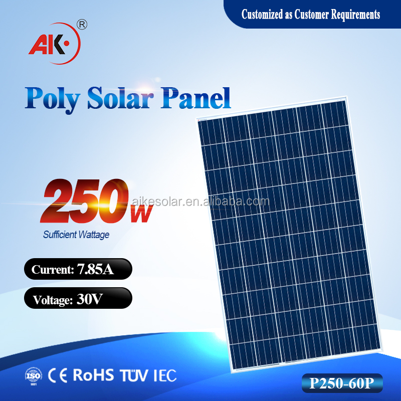 1640*992*40mm Size and Polycrystalline Silicon Material 250w 255w 260w 265w 270w 280w 300w JinKo solar panel cheap price
