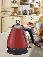 new design red color Stainless Steel Electric Kettle