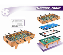 4 in 1 Multi Games Table Combo MDF Board Foosball hockey Tennis for Room