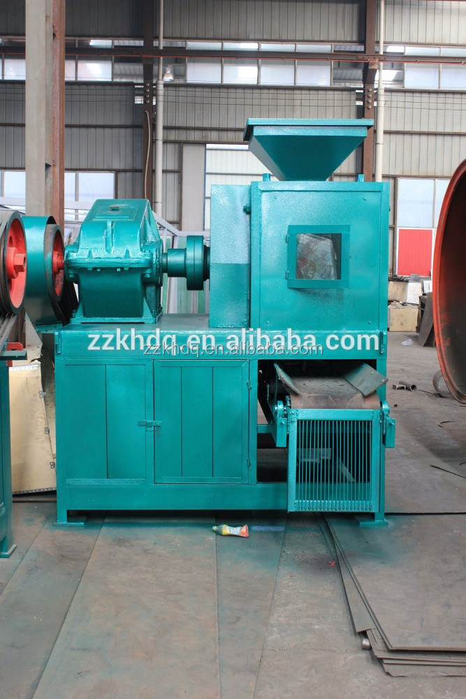 Rice husk charcoal briquette press machinery with CE & ISO
