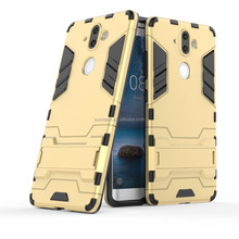 Hot sale shockproof hybrid case cover armor iron man Slim Armor TPU+PC phone case for Nokia 6 8 9