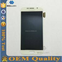 low cost for samsung galaxy s6 phone unlocked original lcd