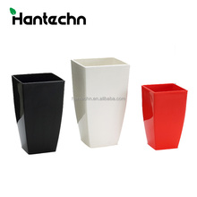 China manufacturer plastic colorful nursery flower pot growing plant flat tray home goods flower pots with good price