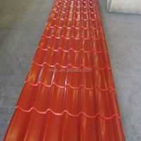 China trade goods colorful prepainted roof sheets price per sheet and building materials