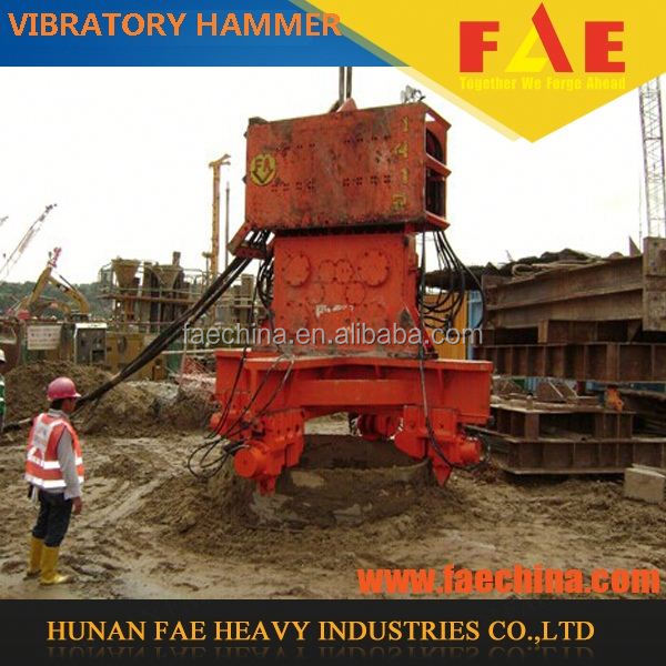 machines for sale FAV250-1200 used vibro sheet pile hammer