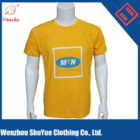 Custom wholesale organic cotton dry fit t shirt printing