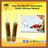 Fast Dry Rtv GP Underwater Acetic Silicone Sealant