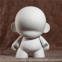 oem blank munny action figure kids toys diy painting/create your plastic white munny action figure/custom munny action figures