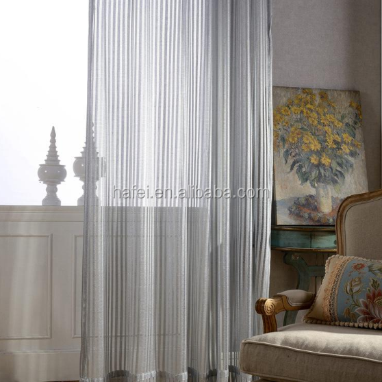 simple stripe office curtain window curtains fabric sheer curtain