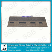 Nigeria laminated fiberglass asphalt roof shingle tiles of building materials prices