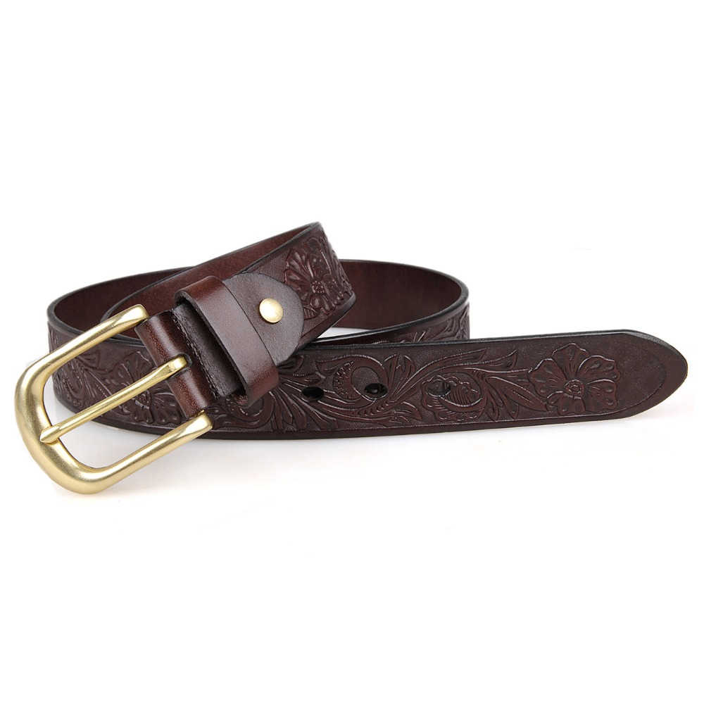 JMD Classic Italy Cow Leather Men's <strong>Belt</strong> High Quality Fashion Chocolate <strong>Belt</strong> For Man B012Q