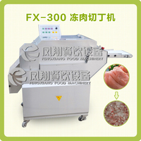 Industry Supermarket beautiful cutting effect Frozen Meat Cube Dicer/Dicing Machine(Skype: fengxiangrose@outlook.com)