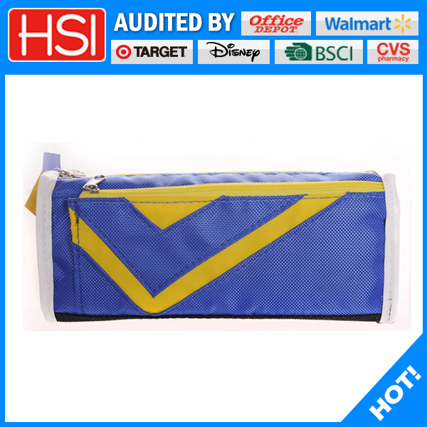 promotionnal character high quality pencil case with front pocket