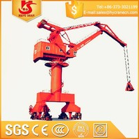 Factory price China assured brand single beam Harbour portal crane