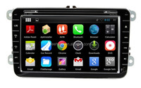 A9 dual core 8 inch Android 4.4 Full function Touch screen DVD player for VW Passat B5 Golf Bora polo with gps free map