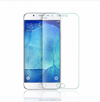 2.5D Full Cover Transparent Tempered glass 9H premium Screen Protector for Samsung A8