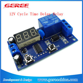 NEW 12V Cycle Delay Module Cycle Relay Switch Relay Module 1-200S