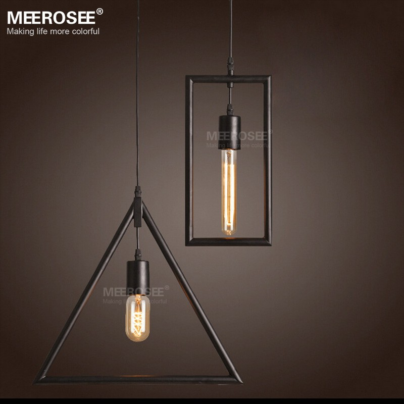 Multi Hanging Chandelier Light American Style Loft Kitchen Pendant Lamp MD81765