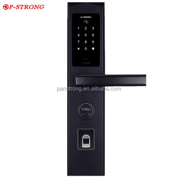 Professional PVC Door Lock With Fingerprint and High-quality
