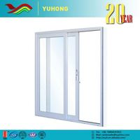 2016 hot low price the newest design sound insulation glass office entry doors