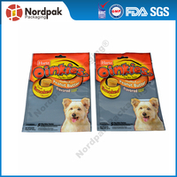 Customised packaging pouch for pet food stand up pouch for your lovely pet