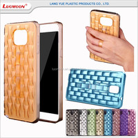 with plastic button mobile phone cover for samsung galaxy note trend s g 2 3 7 3508 3509 mega case